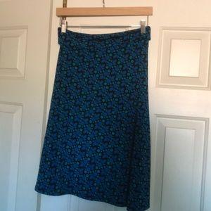 LuLaRoe azure skirt size S